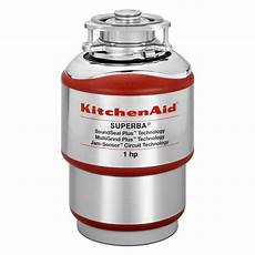 Kitchen Garbage Disposals Reviews by Kitchenaid 1 Hp Continuous Feed Garbage Disposal Kcds100t