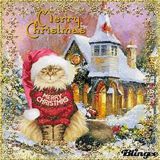 merry christmas cat picture 135595773 blingee com