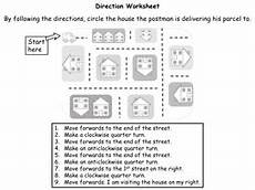 directions worksheet tes 11848 direction and movement year 2 teaching resources