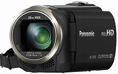 panasonic hc v550 test hd camcorder