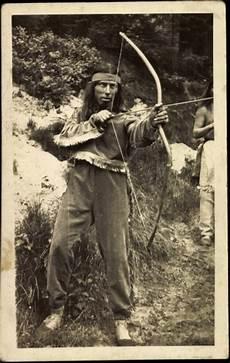 Ausmalbilder Indianer Mit Pfeil Und Bogen Foto Ansichtskarte Postkarte Indianer Mit Pfeil Und
