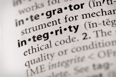 Human Integrity Definition