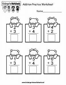 free kindergarten addition worksheets learning to add through images and numbers