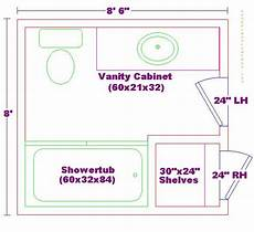 Bathroom Floor Plans 6 X 8 by Pin By Bethany Deters On Home Bathroom Floor Plans