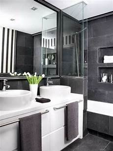 bad grau cooles badezimmer einrichten schwarz wei 223 und grau