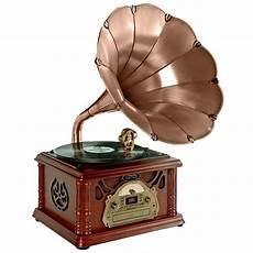 1305 Record Player Antique Gramophone Turntable by Pylehome Ptcdcs3uip Home And Office Turntables