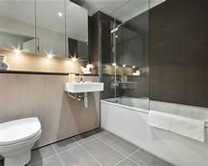 Bad Beige Grau - grey bathroom design ideas photos inspiration
