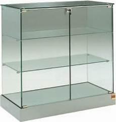 glas vitrine glasvitrine l 93 b 46 h 90 cm glasregale