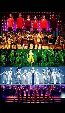 Pop Chart Lab Broadway Costumes Musicals By Color Next To Normal Once Wicked Anything