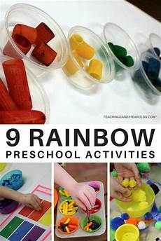 9 awesome preschool rainbow activities