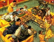 banchetto etrusco il banchetto funebre etrusco gran viale