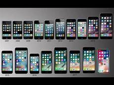evolution of iphone 2017 iphone1 to iphone10 history of