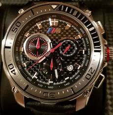 bmw m carbon chronograph for made in