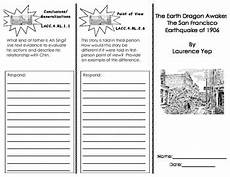 the earth awakes worksheets 14426 the earth awakes journeys common trifold by diana escobar