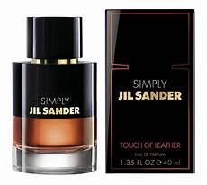 simply jil sander touch of leather jil sander perfume a