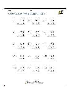 subtraction worksheets in math 10119 2 digit addition worksheets