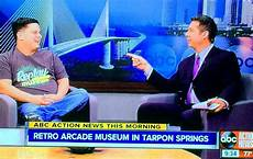 museum tv replay the grand opening of replay amusements museum arcade is covered by local news in florida 8