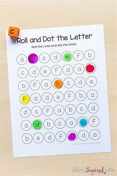 roll and dot the letter alphabet activity and printable alphabet activities small group
