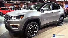 jeep compass suv 2018 jeep compass limited exterior walkaround 2017