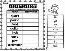 abbreviations 2nd grade by teaching second grade tpt
