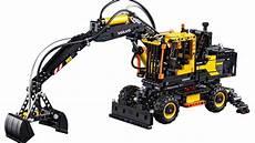 lego technic volvo ew 160e pneumatic digger 42053 high