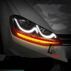 car styling hid xenon headlight with led drl for vw golf mk7 vii 2013 2015 ls in car light