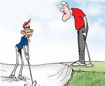The Addicted Golf Player  Joke