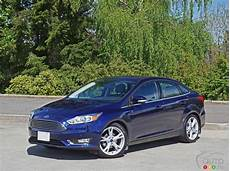 2016 Ford Focus Titanium Sedan Road Test Car Reviews