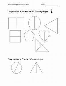 shapes in half worksheets 1140 halving 2d shapes by anoakes1 teaching resources tes