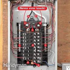 breaker box safety how to connect a new circuit the