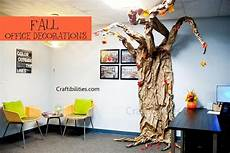 Decorations Ideas For The Office by November Fall Office Decoration Ideas Leaves Glitter