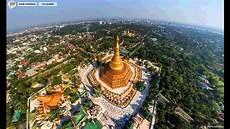 Shwedagon Pagoda Rangoon Myanmar