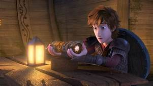 Exclusive Find Out Who Hiccup Is Chasing In This DRAGONS