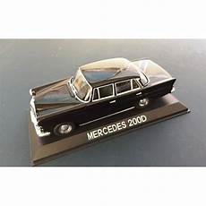 1 43 voiture miniature de collection mercedes 200d ixo
