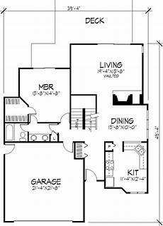 contemporary house plans single story modern 1 1 2 story house plans home design ls b 821 21468