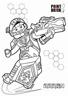 Nexo Knights Ausmalbilder Aaron Aaron Nexo Knights Coloring Coloring Pages