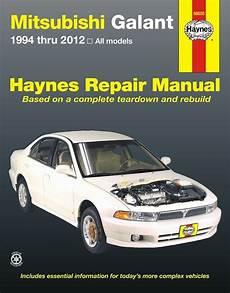 car repair manuals online free 2012 mitsubishi galant navigation system mitsubishi galant 2 4l 3 0l 3 8l repair manual 1994 2012 haynes