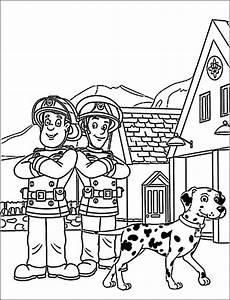 Malvorlagen Kostenlos Feuerwehr Sam Ausmalbilder Eurer Lieblingshelden Zum Drucken Kinder