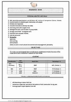 over 10000 cv and resume sles with free download mba marketing fresher resume sle doc