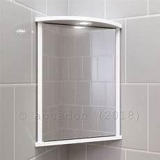 Corner Mirrored Bathroom Cabinets