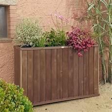 jardiniere haute bois jardini 232 re bois design rectangulaire haute jardini 232 res