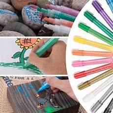 amazon 12 colors magicfly acrylic paint pens 7 69 after