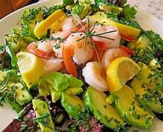 Avocado Rezepte Schnell - schneller avocado garnelen salat kochw 252 tiges chefkoch