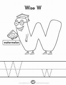 letter w worksheets for pre k 23711 letter buddies coloring worksheet w printable abc worksheets coloring