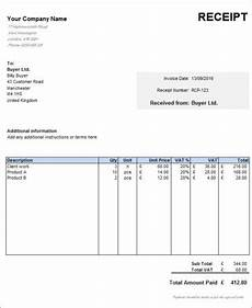 free uk receipt template zervant blog