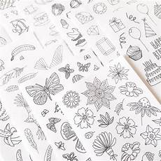 mega pack of adult coloring stickers for diy paper crafts