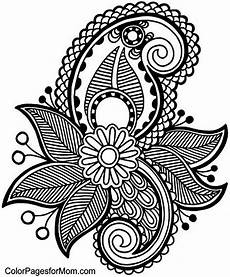 adult coloring pages paisley coloring home