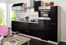 Küche Mit E Geräten Günstig - wiho k 252 chen k 252 chenzeile mit e ger 228 ten 187 montana glanz