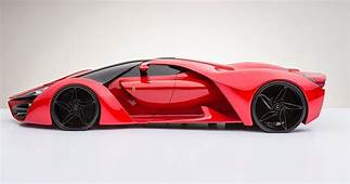 Ferrari F80  Sci Fi Supercar Concept Arrives From Another