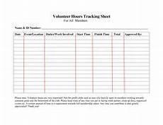 service hours log sheet printable community service hours chart spreedsheets pinterest